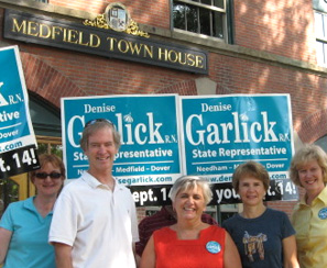 photo of Denise Garlick at Medfield Town House