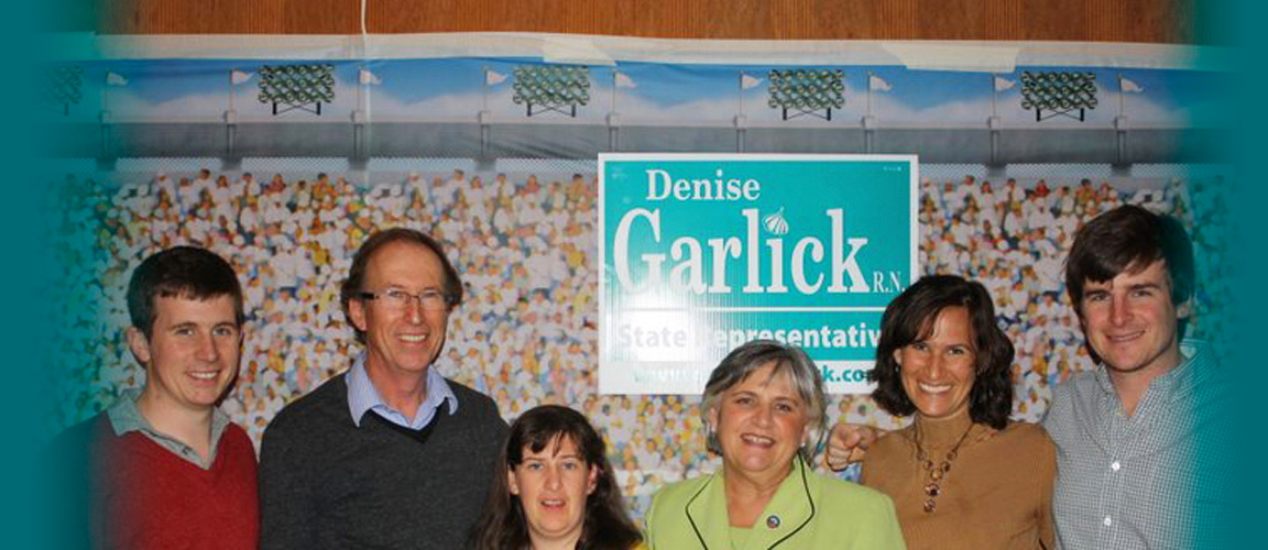 Photo of State Representative Denise Garlick and Family