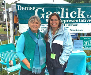photo of Denise Garlick at Needham Fair