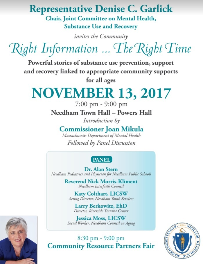 Right Information ... The Right Time: Panel Discussion and Community Resource Fair @ Needham Town Hall, Powers Hall | Hickory | North Carolina | United States